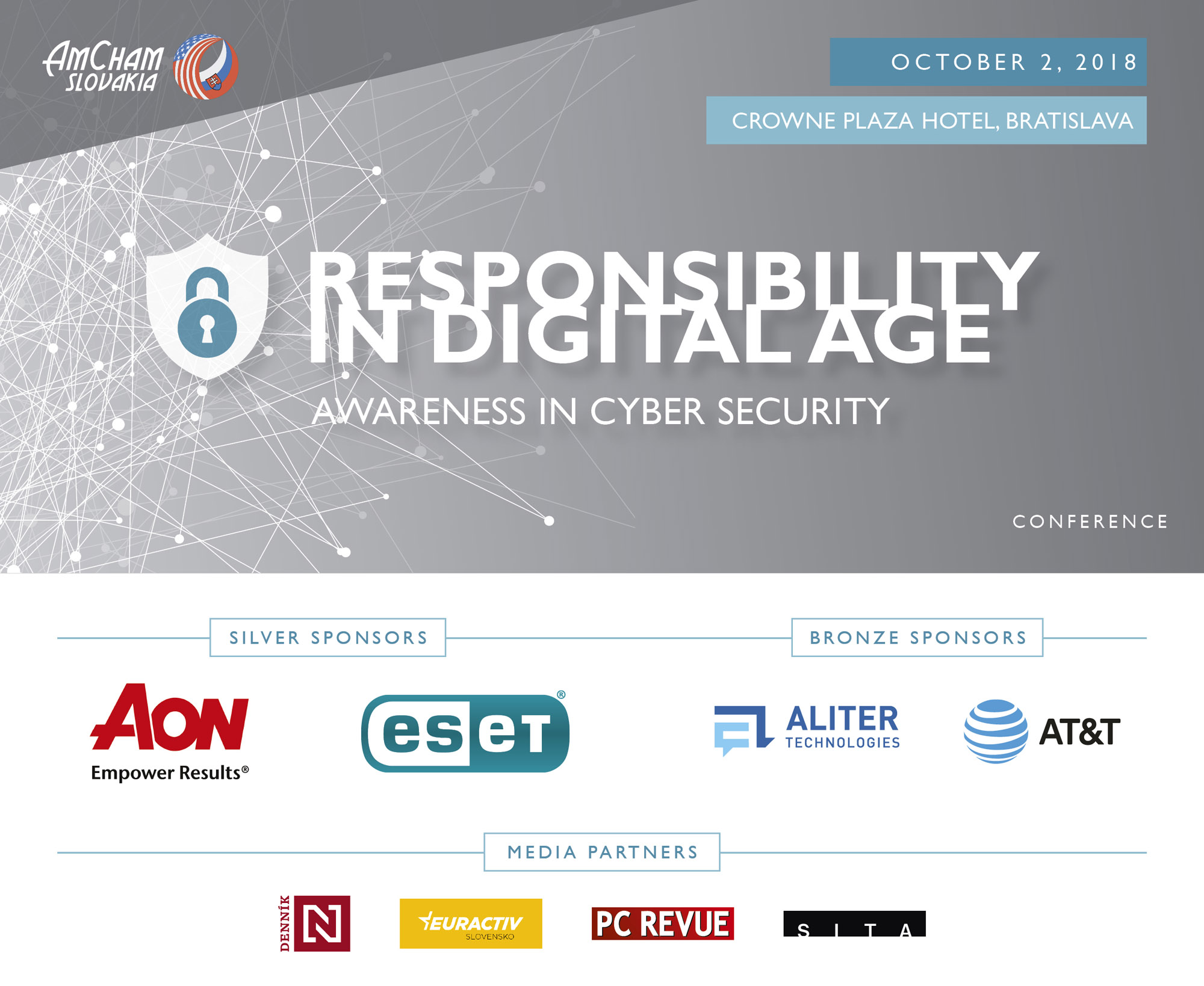 AmCham Slovakia Cyber Security Conference 2018